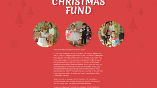 Christmas Fund Letter
