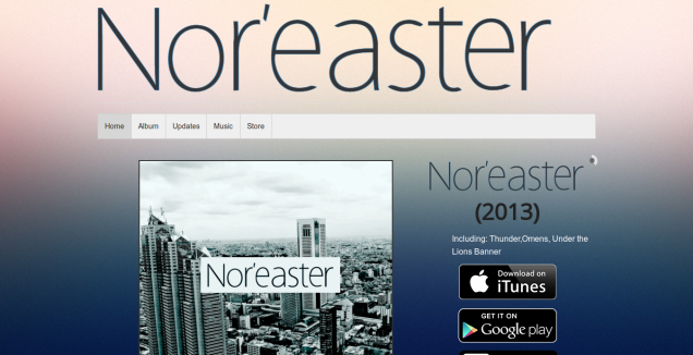 Nor'easter Website
